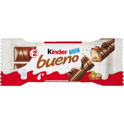 Kinder Bueno 21 5g X 2pcs barritas de chocolate con leche y avellanas pack 6 x 2