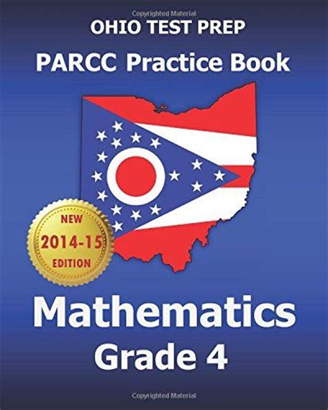 parcc test prep 8th grade math practice workbook and length assessments parcc study guide books ohio test prep parcc practice book mathematics grade 4