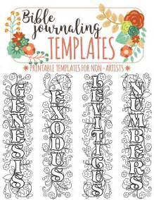 journaling templates free 1000 images about templates for bible journaling on