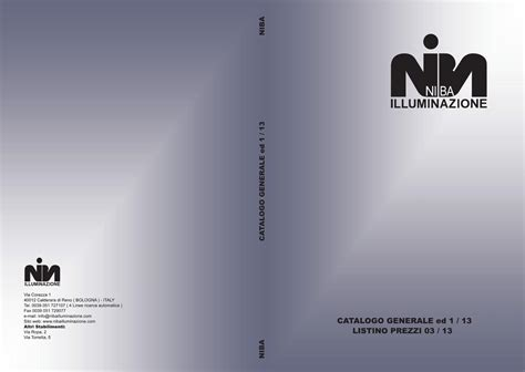 niba illuminazione niba illuminazione by issuu