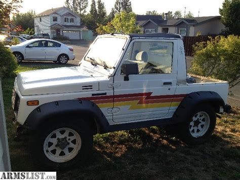Suzuki Samurai 4x4 For Sale Armslist For Sale Trade 1988 Suzuki Samurai 4x4 Clean
