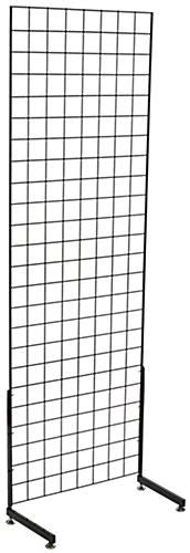 stand l set black gridwall quot l quot stand set of 2 panels
