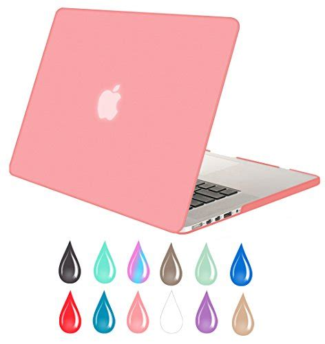 Macbook Pro 13 Retina Display Touch mosiso pink retina 13 inch soft touch plastic