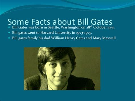 encyclopedia of world biography bill gates about bill gates
