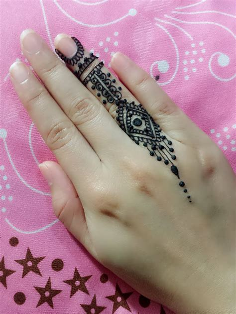 video tutorial henna tattoo small mehndi design for finger tutorial jagua henna