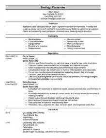 Furniture Sales Associate Cover Letter by Retail Furniture Sales Resume