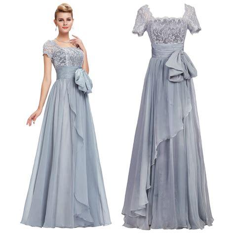 Iqlima Dress M 96 L 98 sleeve chiffon lace gown evening prom