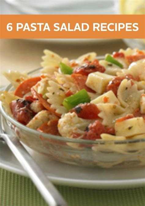 6 cold pasta salads for your summer dinners our holly days mix up your weeknight dinner menu with these delicious and