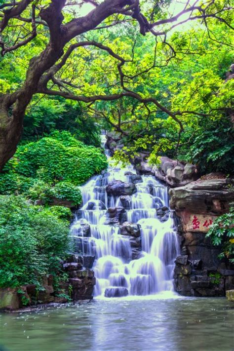 beautiful naturelle beautiful waterfall photo free