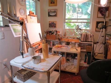 painting at home art studio caerus art residency