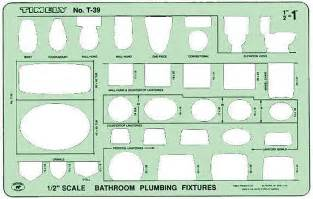 bathroom template timely t 39 bathroom plumbing fixtures drawing template
