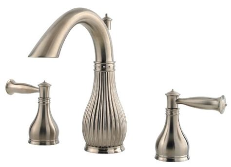 discount bathroom faucets brushed nickel pfister virtue 2 handle 8 widespread bathroom faucet in