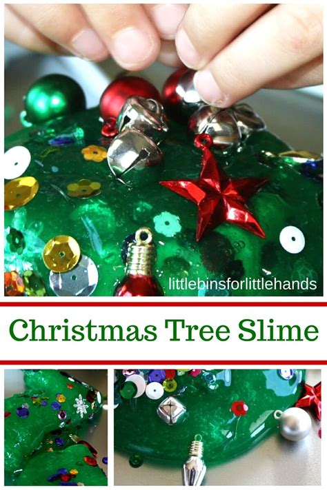 holiday slimes christmas science activities  recipe