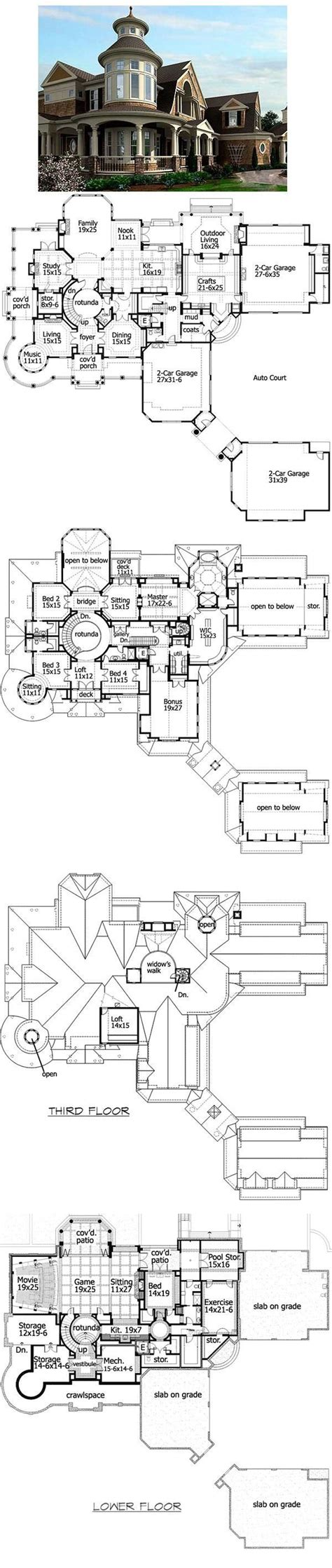 plan 23413jd spectacular shingle style house plan movie