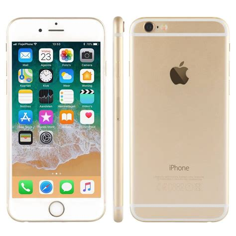 refurbished iphone  goud  gb kopen fixjeiphonenl