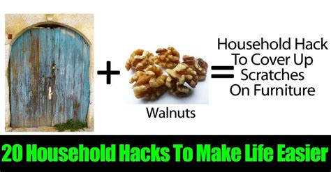 household hacks 20 household hacks to make life easier