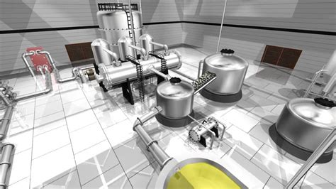 cottage cheese factory cottage cheese whey powder factory animation design