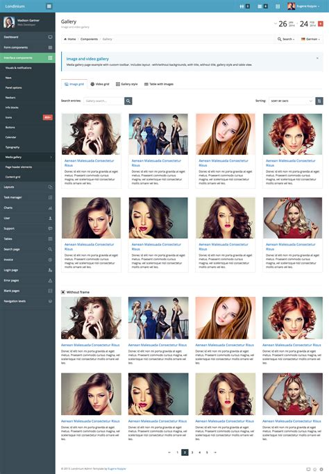 templates gallery bootstrap londinium responsive bootstrap 3 admin template by