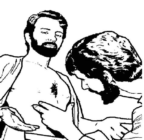 coloring page for doubting thomas 43 best thomas images on pinterest history in french