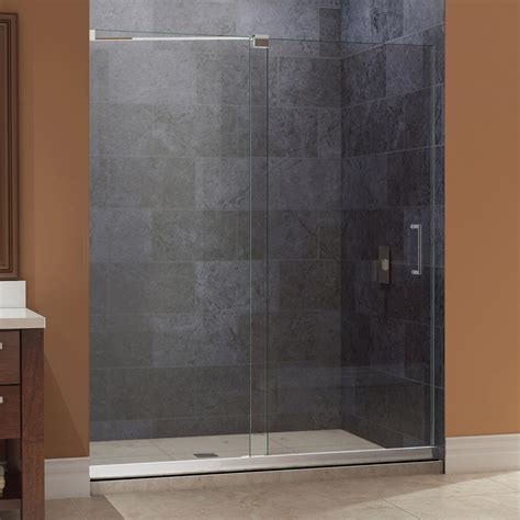 Dreamline Mirage 44 In To 48 In X 72 In Semi Framed 44 Shower Door