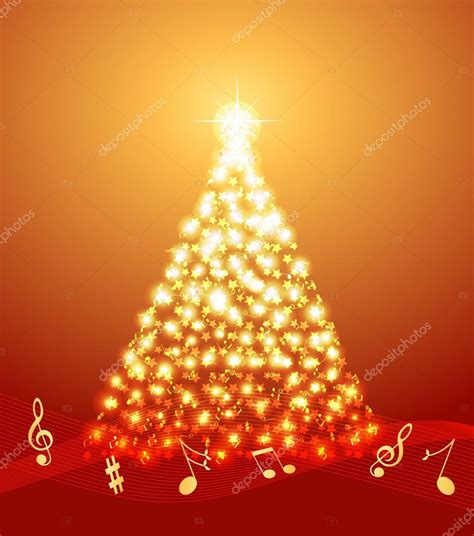 imagenes vectoriales de navidad 193 rbol de navidad con notas musicales archivo im 225 genes