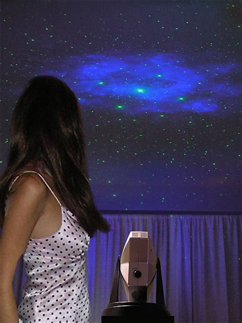 laser projector turns any ceiling into a starry