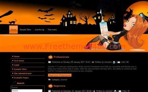 black themes wordpress free free dark black halloween wordpress theme download