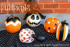 painted pumpkins pretty painted pumpkins