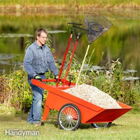 Diy Garden Cart by Diy Garden Cart The Family Handyman