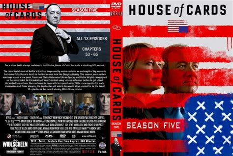 house of cards season 5 house of cards season 5 dvd covers labels by covercity