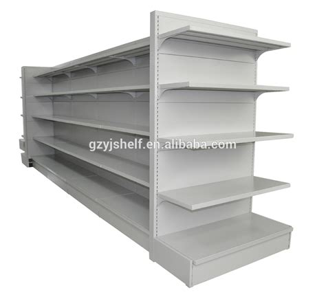 adjustable wall mounted shelving high quality supermarket