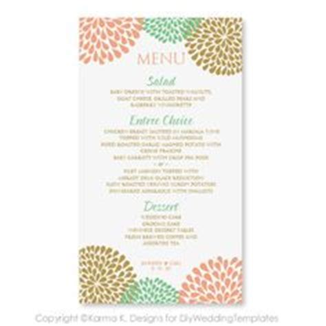 menu card template microsoft wedding menu cards on wedding menu wedding