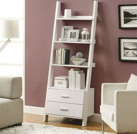 contemporary living room accent display stand cabinet bookcase open shelves wood ebay decorating white ladder shelf bookcase for contemporary