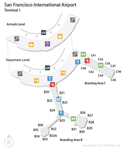 san francisco map with airport san francisco airport map terminal 1 michigan map