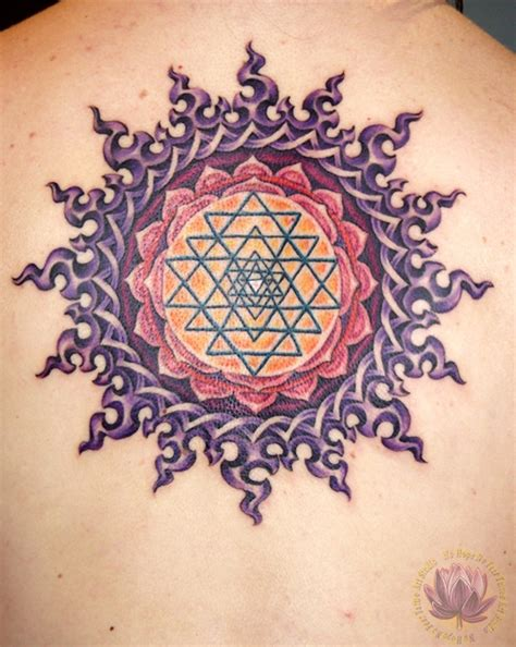 yantra tattoo designs kern back tattoos no no fear studio