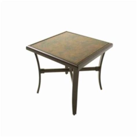 Martha Stewart Patio Table Martha Stewart Living Palm Patio Accent Table Discontinued 2 2020 13 6cp At The Home Depot