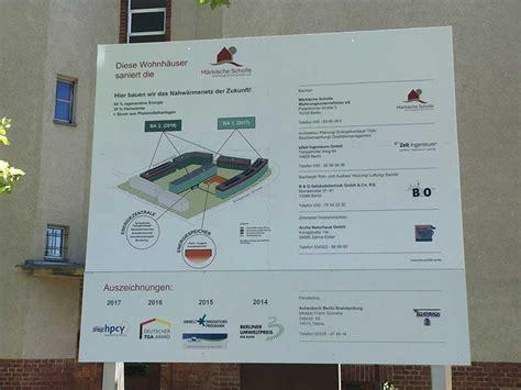 Bauschild Online Gestalten by Bauschild Center Berlin Schilder Werbeplanen Und