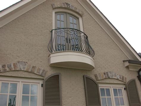 window balcony design wrought iron railing exterior projects archive page of antietam works balcony berland md