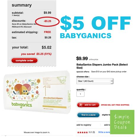 baby diaper coupons printable 2014 babyganics baby diapers only 0 12 a diaper target com