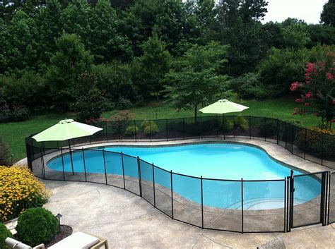 diy pool fence installation pool fence diy