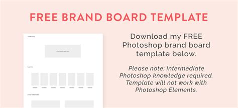 brand board template how to create a brand board nesha woolery