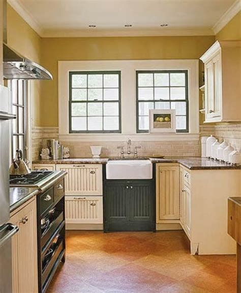 small country kitchen ideas small black and cream cottage kitchen with italian details