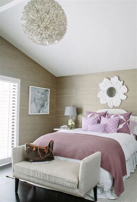 purple and taupe bedroom purple and taupe bedroom with grasscloth contemporary