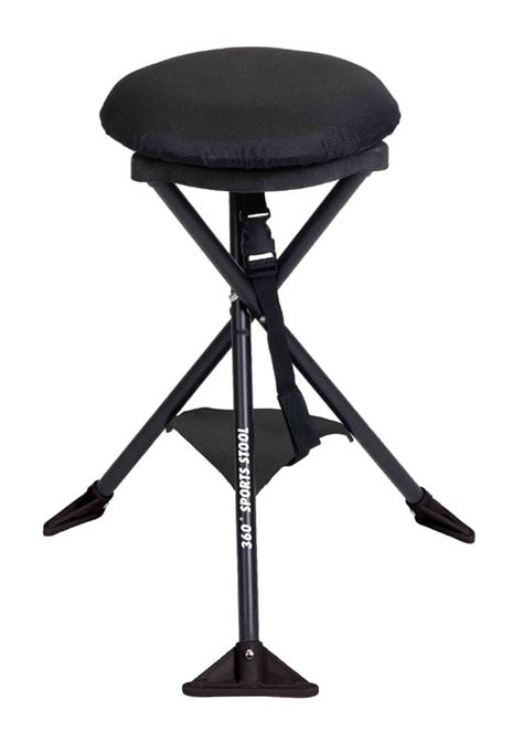 Portable Folding Stools by Cing Station Portable 360 176 Swivel Sports Stool
