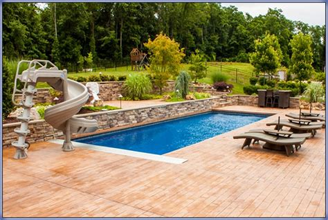 inground pool ideas deck ideas around inground pools joy studio design
