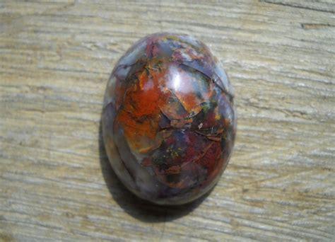Batu Akik Pancawarna Motif Marmer barang antik batu
