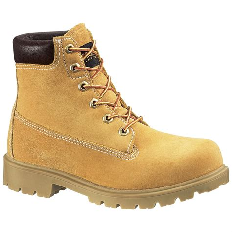 womans work boot s wolverine 174 6 quot waterproof insulated field boots
