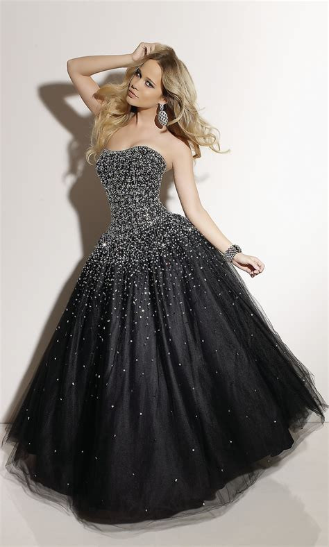 black sparkly prom dress awesome  style pinterest