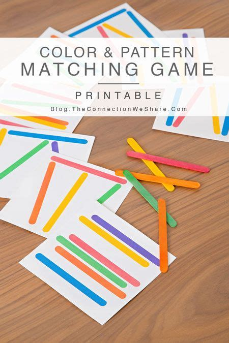 pattern matching activities color pattern matching game for kids matching games