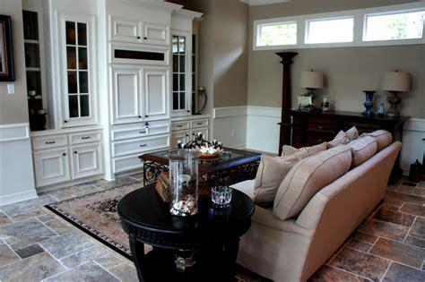 living room remodeling travertine tile floors jpg from